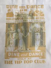 Disney Parks Hollywood Hotel Twilight Tower Of Terror Tip Top Club Reusable Tote