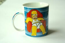 HOMER SIMPSON - WITHOUT TV, IT'S HARD TO TELL WHEN ONE DAY ENDS …… MUG