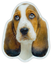 Magnetic Bumper Sticker - Basset Hound Dog Breed Magnet - Cars, Trucks, SUVs