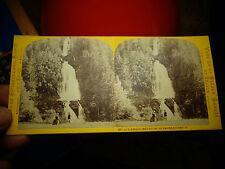 Anciennes Photographies en Relief Visionneuse Suisse Giesbach Lac de Brienz
