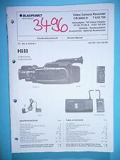 Service Manual-Anleitung für Blaupunkt CR-8600  ,ORIGINAL