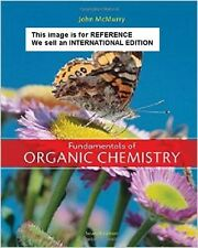 Fundamentals of Organic Chemistry by John McMurry (Int' Ed Paperback)7Ed