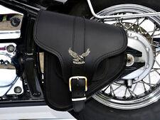 (B4) Leather Swingarm Single Pannier Saddle Bag Yamaha Dragstar Vstar XVS 1100