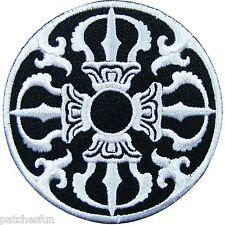 Tibetan Buddhism Power Of Wisdom Tantra Deity Yoga Aum Om Ohm Iron on Patch #943
