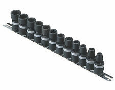 "12PC 3/8"" Dr. Metric Wobbly Swivel Impact Socket Set Genius Tools-TG-312M"