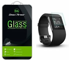 Dmax Armor® Tempered Glass Screen Protector Saver Shield For Fitbit Surge