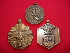 3 Medals w/o Ribbons: EXPEDITIONARY SERVICE, MERITORIOUS SERVICE, MILITARY MERIT