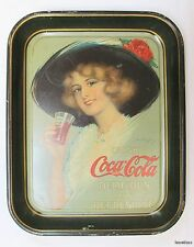 Authentic Antique 1912 Hamilton King Coca-Cola Tray -The Real Thing!