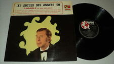 AIMABLE 33 TOURS LP FRANCE MARINI BECHET BECAUD TRENET AZNAVOUR VIDALIN