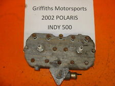 02 01 00 03 POLARIS INDY 500 XLT? XC? TWIN CYLINDER HEAD HEADS NICE TEMP SENSOR
