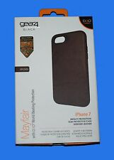 100%GENUINE Gear4 BLACK D3O Mayfair Protective Case IC7041D3 BROWN for iPhone 7