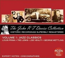 THE JOHN R.T.DAVIES COLLECTION VOLUME 1 4 CD NEU LOUIS PRIMA/TED LEWIS