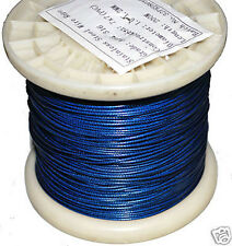 1.2mm Nylon Coated 316SS Shark Trace. 10m Coil. 120kg. Fishing Wire