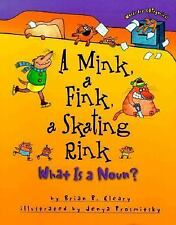 A Mink, a Fink, a Skating Rink: What Is a Noun? by Brian P. Cleary c1999 VGC HC