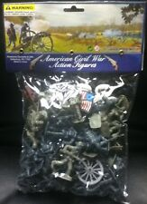 AMERICAN CIVIL WAR ACTION FIGURES TOY SOLDIER SET GETTYSBURG NEW
