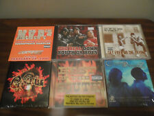 CD Lot of 6 RAP CD's Dead Prez BEST OF THE SOUTH Crisis MVP'z Cultjah Dreamz
