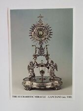 The Eucharistic Miracle of Lanciano Prayer Card, from Italy, New