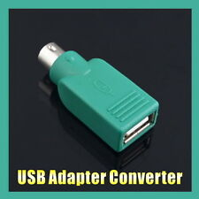 USB Port To PS2 Mouse Keyboard Adapter Converter For PC Notebook Computer