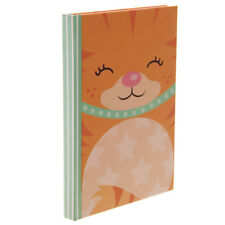 Cute Glitter Kitten A6 Hard back Notebook Lined pages New & Sealed Gift, School