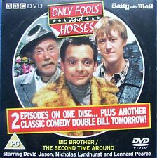 DVD Daily Mail Promo ONLY FOOLS and HORSES BIG BROTHER & THE SECOND TIME AROUND