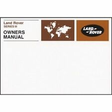 Betriebsanleitung  / Owners manual Land Rover Series III 1971-1978
