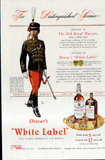 1941 DEWAR'S WHITE LABEL AD- The 10th Royal Hussars