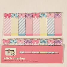 120 Sheets Colourful Bow Ties Mini Sticky Notes Page Marker Memo Tab Sticker UK