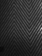 Black Chevron Devore Georgette  Dressmaking Fabric