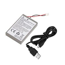 2000mAh Rechargeable Battery Pack for Sony Playstation PS4 Controller Cable GU