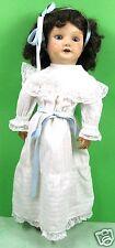 poupée ancienne, vintage, 40 cm  carton bouilli, unis france