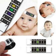 1PC Baby Kid Forehead Strip Head Thermometer Fever Body Temperature Check Test