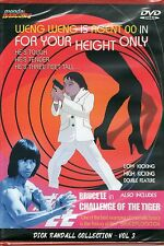 For Your Height Only & Challenge of the Tiger DVD Mondo Macabro Weng Weng