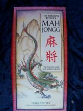 VERY RARE - FORTUNE TELLER'S MAH JONGG. Oracle Set Book & CARDS. 1st Edition
