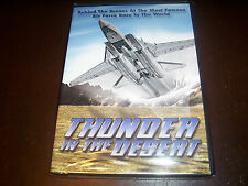 THUNDER IN THE DESERT Edwards Air Force Base Military Aviation FA22 F-15 DVD NEW