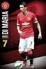 SOCCER POSTER Angel Di Maria Manchester United 2014-2015