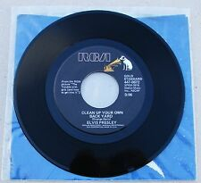 Elvis Presley 447-0672 Clean Up Own Backyard / The Fair Is Moving On 45RPM Mint-
