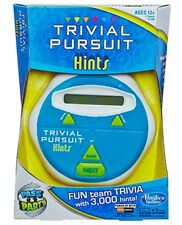 Hasbro TRIVIAL PURSUIT Hints Electronic Trivia Hand Held Pass & Party Game NEW