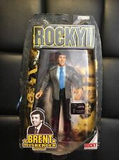 Jakks Pacific Rocky Brent Musberger Figure From Rocky 2 New