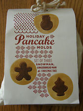 Williams Sonoma Christmas/Holiday Pancake molds-Make small,large or 2 flavor-New