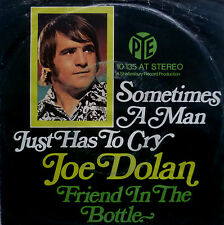"7"" 70s VG++ ! JOE DOLAN Sometimes A Man Just Has To Cry"