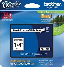 Brother P-Touch TZe-211 Label Tape TZ211 Ptouch TZe211 TZ-211 PT-D200 PT-2700