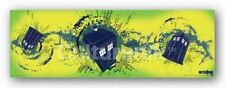 SCIENCE FICTION POSTER Doctor Who TARDIS Taking Off Horizontal