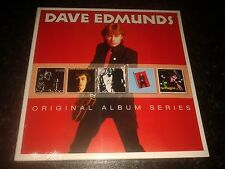 DAVE EDMUNDS - ORIGINAL ALBUM SERIES 5 CD SET NEW SEALED 2013 WARNER