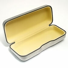 Sunglasses Glasses Case by Level One Polished Steel Finish - Anti-Scratch Lining
