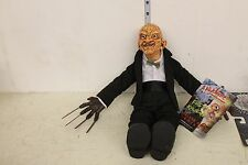 Mezco Freddy Krueger in suit Plush Figure LOOSE