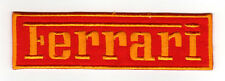 FERRARI EMBROIDERED IRON ON PATCH italian sports cars auto