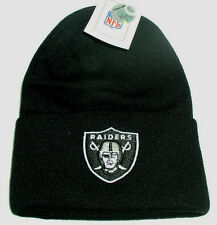 1X Oakland Raiders official licened Knit Beanie Bl