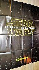 STAR WARS le reveil de la force ! affiche cinema preventive