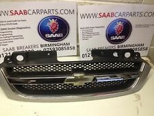 CHEVROLET TACUMA 2008 FRONT GRILL IN CHROME AND SILVER PAINT CODE 92U FIT 05 -08