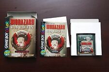 Game Boy Color GBC Biohazard Gaiden boxed Japan game US Seller